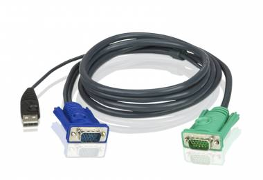 Aten 2L-5205U - USB KVM Cable 5m 3in1 SPHD
