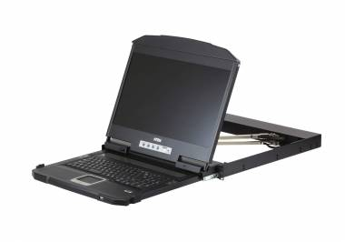 Aten CL3800 - 1U Ultra WideScreen LCD Console