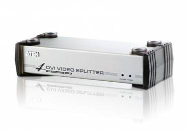 Aten VS164 - 4 Port DVI/Audio Splitter