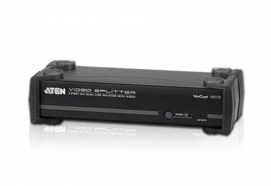 Aten VS172 - 2 Port DVI Dual Link/Audio Splitter