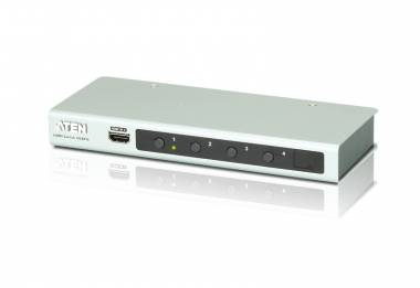 Aten VS481B - 4 Port 4K HDMI RS-232 Switch