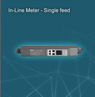 Infrapower In-Line Meter – Single Feed